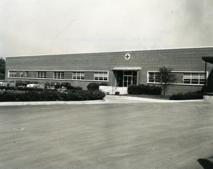 USA Landover American Red Cross Warehouse Exterior view Old Photo 1960