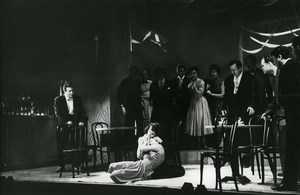USA Opera New York Menotti The Saint of Bleecker Street Broadway Old Photo 1955