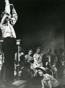 USA Los Angeles School of Music Opera Susannah by Carlisle Floyd Old Photo 1957