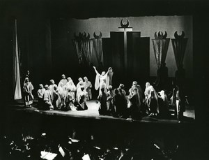 USA New York Juilliard Opera The Sweet Bye and Bye by Jack Beeson Old Photo 1957
