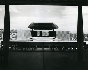 USA New Mexico Santa Fe Opera Theatre Old Photo 1957