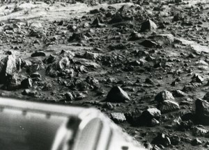 USA Space Exploration Martian Surface Mars Viking 1 Lander Old Photo NASA 1976