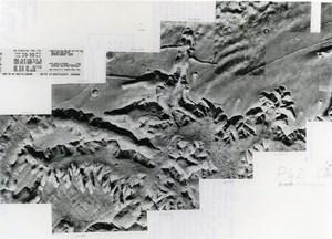 USA Space Exploration Martian Surface Mars Viking Orbiter 1 Old Photo NASA 1976