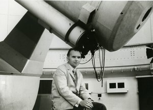 Space Astronomer Lubos Kohoutek from Hamburg Observatory Comet NASA Photo 1973
