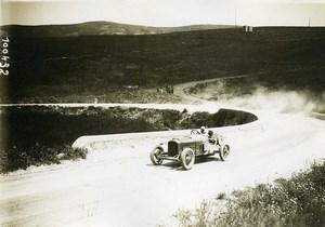 Sicile Palerme Course Targa Florio Pilote Wagner Voiture Peugeot ancienne Photo Rol 1925