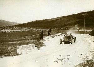 Sicile Palerme Course Targa Florio Balestrero sur Officine Meccaniche ancienne Photo Rol 1925