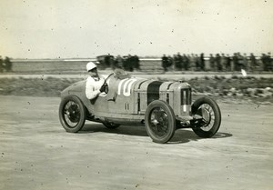 France GP de Provence Miramas Henri Segrave sur voiture Talbot ancienne Photo Rol 1925