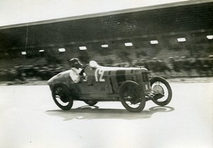 France GP de Provence Miramas Race Pilot Duller car Talbot Old Photo Rol 1925