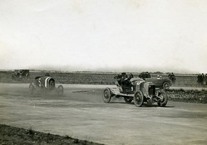 France GP de Provence Miramas Pilote Jouan voiture Corre la Licorne Ballot ancienne Photo Rol 1925