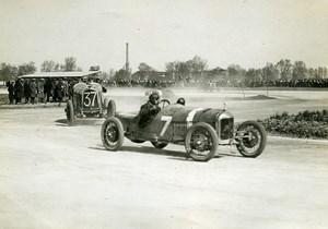 France GP de Provence Miramas Giraud sur Voisin & Boisson sur Lalane ancienne Photo Rol 1925