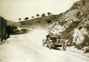 Sicile Palerme Course Targa Florio Pilote Platé voiture Chiribiri ancienne Photo Rol 1925
