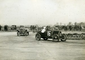 France GP de Provence Miramas Pilote Massias sur Alfa Romeo ancienne Photo Rol 1925