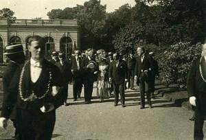 France Paris Bagatelle Garden Party Italian Community Old Photo Trampus 1919