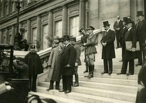 WWI Versailles Peace Treaty Signature Bulgaria Delegates Old Photo Trampus 1919