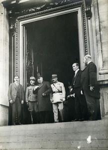 WWI Versailles Peace Treaty Signature Theodoroff Old Photo Trampus 1919