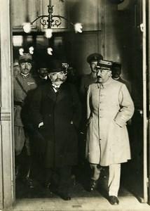 WWI Versailles Peace Treaty Signature Theodoroff Gare de Lyon Photo Trampus 1919
