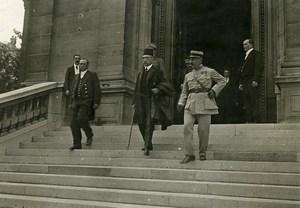 WWI Versailles Peace Treaty Ottoman Damad Pacha Old Photo Trampus 1919