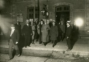 WWI Noisy le Roi Versailles Peace Treaty Graf von Brockdorff-Rantzau Photo 1919
