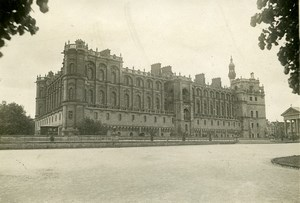 France Saint Germain en Laye Castle WWI Peace Treaty Old Photo Trampus 1919