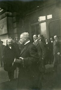 France Paris Orsay Train Station King of Spain Ambassador Old Photo Trampus 1920