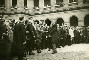 France Paris 4th of July Parade Joffre Poincare Pershing Photo Trampus 1919