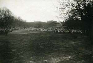 France Paris Bois de Boulogne Cross Country Race Old Photo Trampus 1920