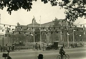 France Paris Champs Elysées Preparing the Victory Parade Old Photo Trampus 1919