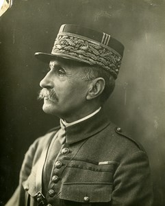 France Paris Field Marshal Marechal Foch Old Photo Henri Manuel Trampus 1920