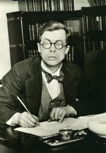 United Kingdom Biologist Julian Huxley Portrait Sciences Old Photo Trampus 1920