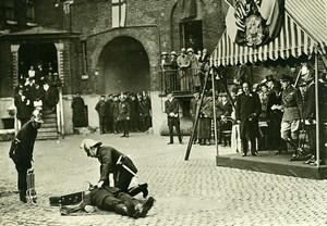 UK London Southwark Prince of Wales Firemen Rescue Exercise Photo Trampus 1920