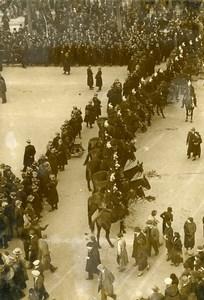 France Paris Champs Elysées Protest Fight Security Forces Old Photo Manuel 1935