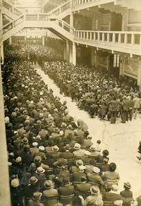 France Lyon Traders against 40 hours Work Week Law Protest Old Photo 1937