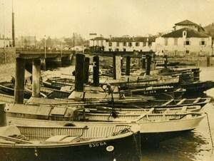France St Jean de Luz Fishing Workers Strike Greves Old Photo 1934