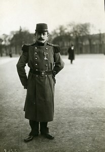 France Paris New Military Costume Fashion Old Meurisse Photo 1910