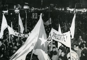 Uruguay Montevideo Pro Cuban Demonstrations Old Photo 1964