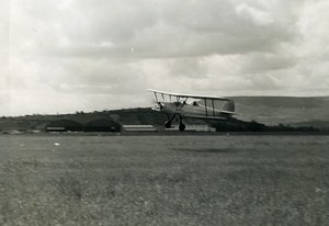 France Aviation Stampe SV-4C SNCAN Training Aircraft Old Photo 1950's