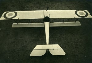 France WWI Nieuport 17? Military Aviation Reconnaissance Aircraft Old Photo 1916