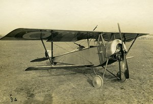 France WWI Nieuport 12 bis Military Reconnaissance Fighter Aircraft Photo 1916