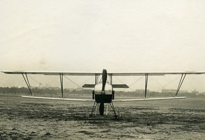 France WWI Nieuport 14 Military Aviation Reconnaissance Aircraft Photo 1915