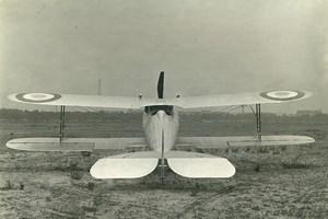 France WWI Nieuport 28 Prototype Avion de Chasse Aviation Militaire ancienne Photo 1917