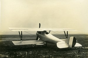 France WWI Nieuport 27 Prototype ? Fighter Aircraft Military Aviation Photo 1917