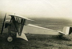 France WWI Nieuport 15 Prototype ? Military Aviation Bomber Aircraft Photo 1916