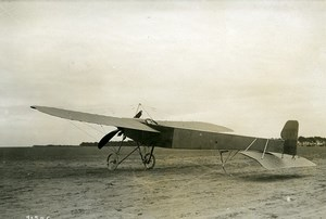 France Aviation Sommer Monoplane Airplane Gnome Engine Old Branger Photo 1911