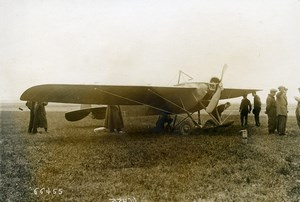 France Aviation Nieuport IV Monoplane Airplane Aircraft Old Photo 1911