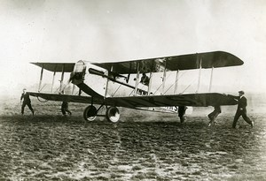 Aviation Raid London Melbourne Matthews Sopwith Wallaby Old Photo 1919