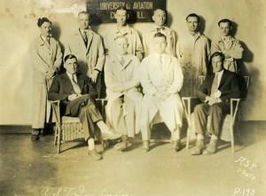 USA Chicago Aviation Service & Transport University Old Photo 1925