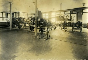 USA Chicago Fuselage Repair Section  Aviation Service & Transport Old Photo 1925