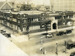 USA Chicago Aviation Service & Transport School Shops & Offices Old Photo 1925