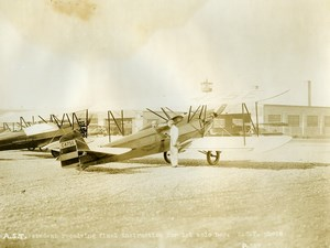 USA Chicago Aviation Service & Transport Command-Aire Aircraft Old Photo 1925