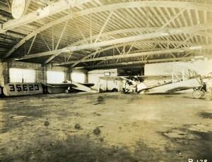 USA Chicago Aviation Service & Transport Airport Hangar Old Photo 1925